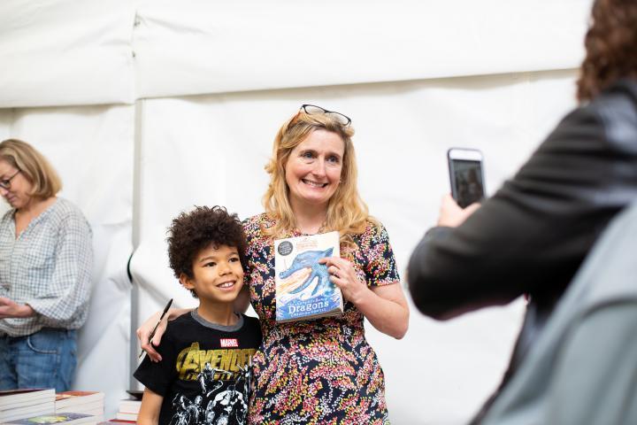 Barnes Children's Literature Festival: Cressida Cowell