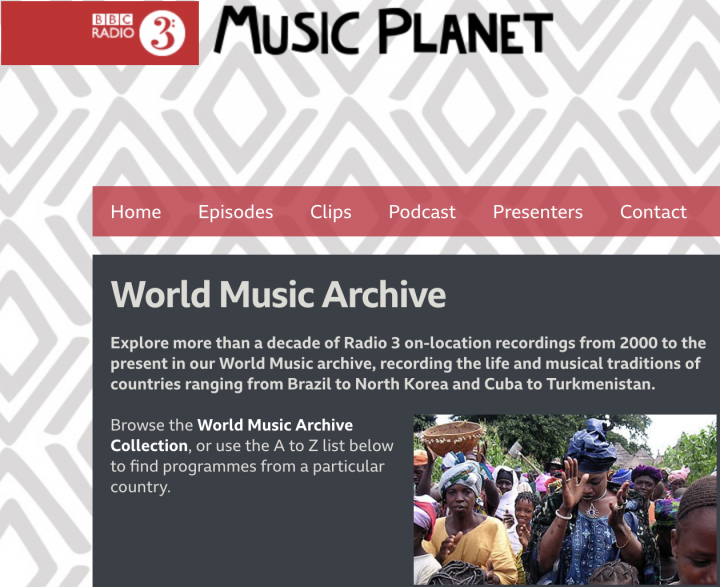 BBC Radio 3 Music Planet