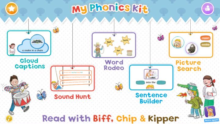My Phonics Kit: Read with Biff, Chip & Kipper app