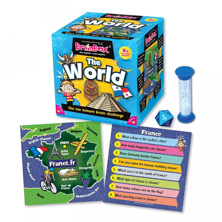 Brainbox World game