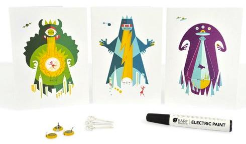 Power Animals Flashing Cards
