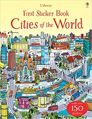 First Sticker Book Cities of the World