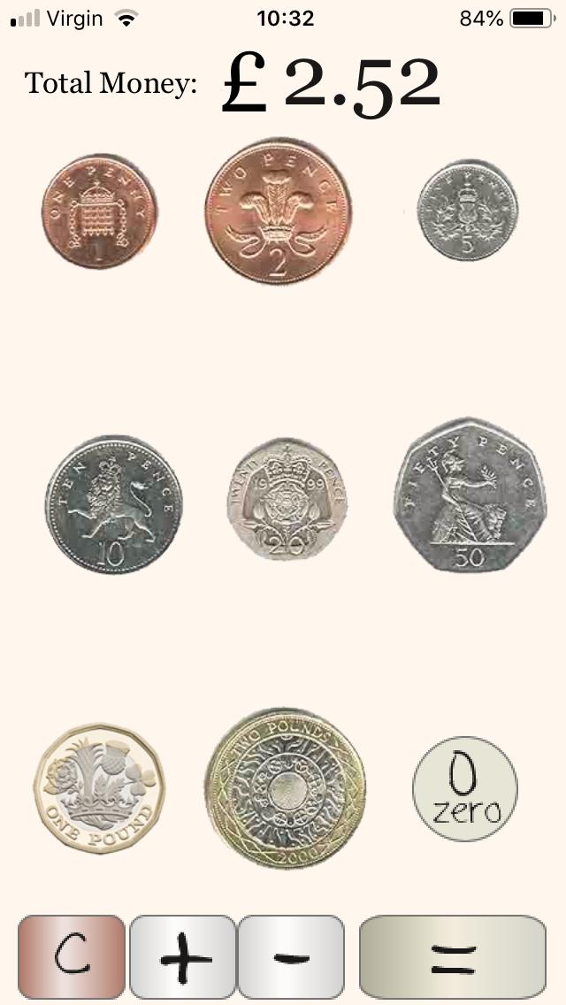 UK Coin Calculator app