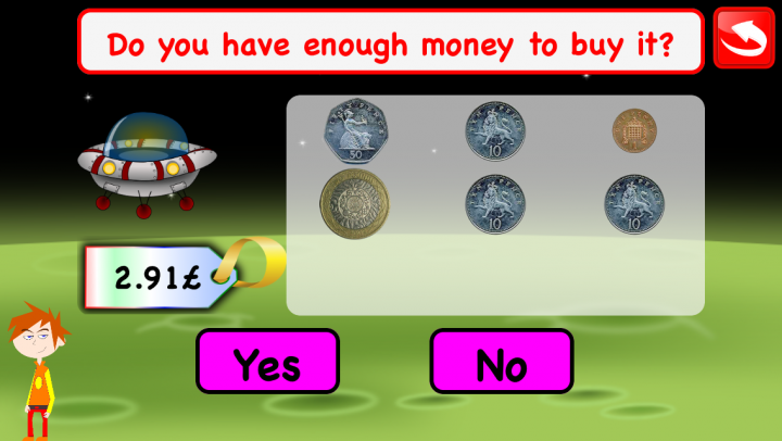 Coins Math Learning Games app
