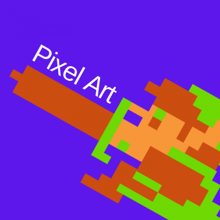Create your own pixel art character, National Video Game Museum