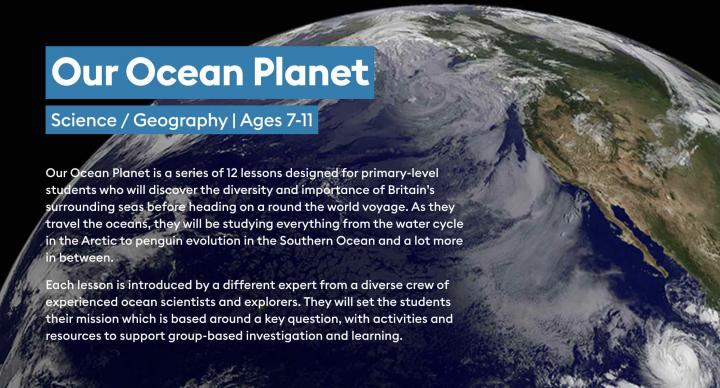 Our Ocean Planet lessons from Encounter Edu