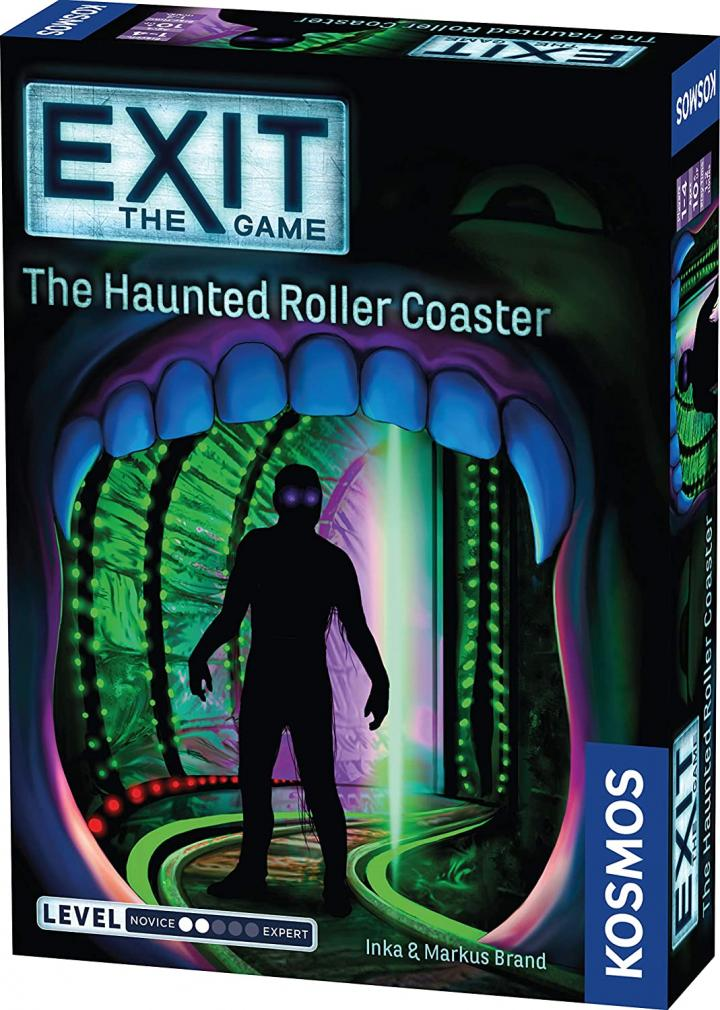 EXIT Haunted Roller Coaster game