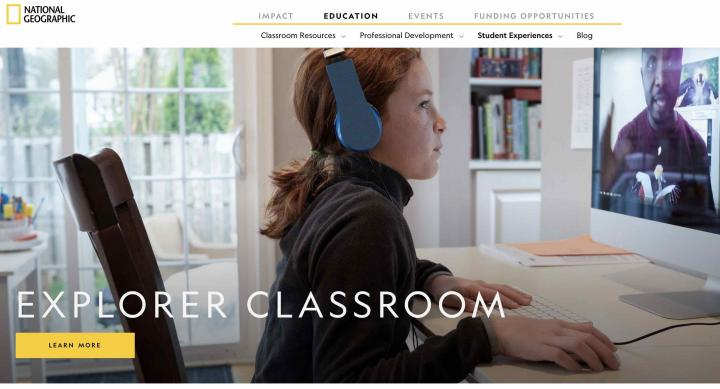 National Geographic Explorer Classroom