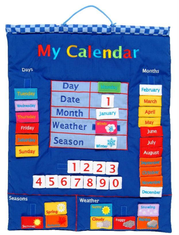 Fiesta Crafts Calendar