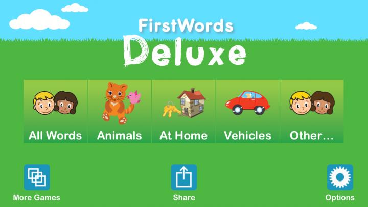 First Words Deluxe app