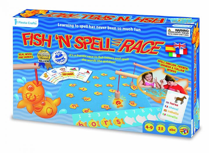 Fish 'N' Spell Race