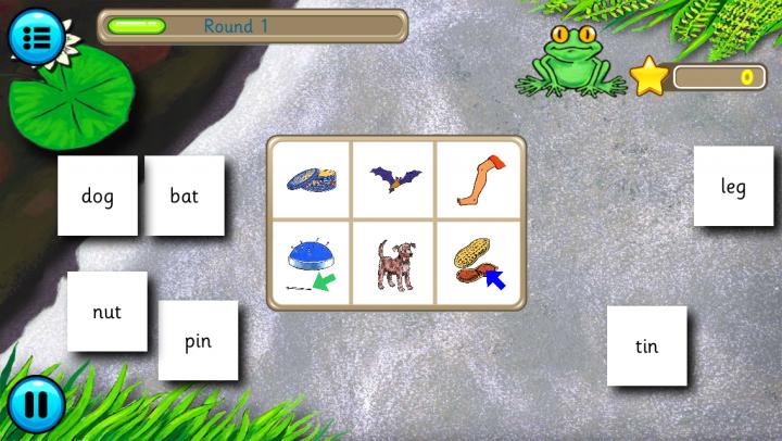 Froggy Match-It Phonics app