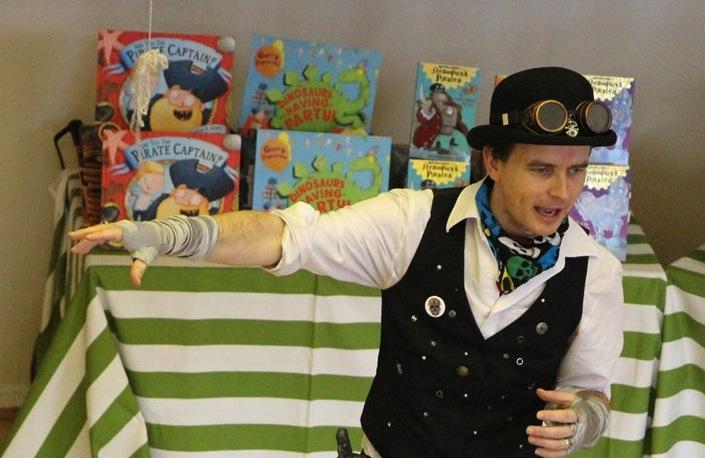 Gareth Jones, Steampunk Pirates, Essex Book Festival