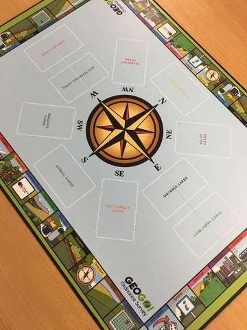 Geogo! The Ordnance Survey Map Skills Boardgame