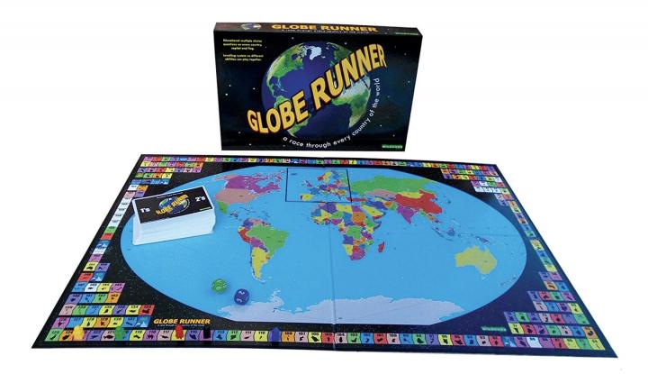 Globe Runner game