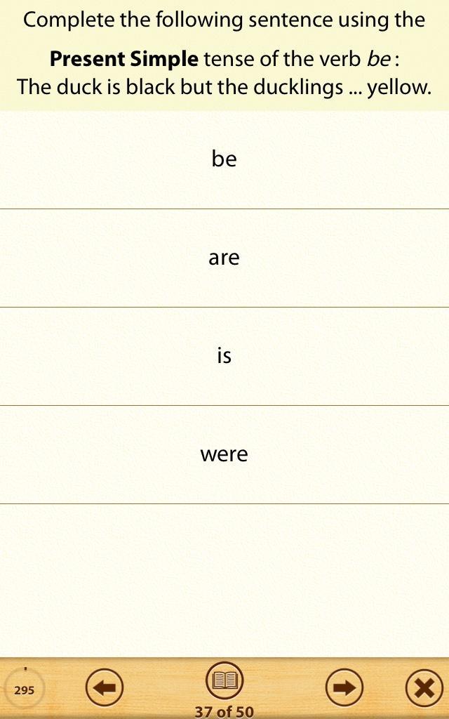 Grammar Express: Tenses app