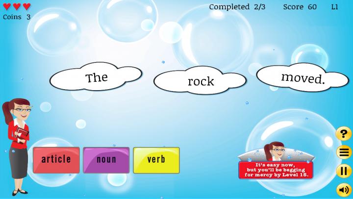 Grammar Pop app