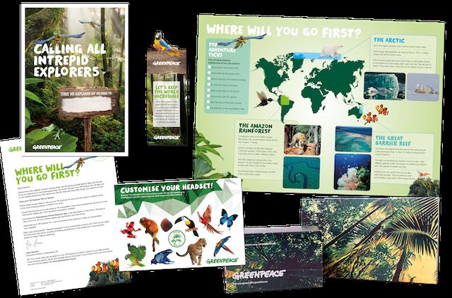 Greenpeace VR Explorer Kit