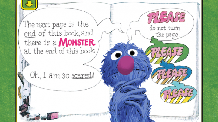 The Monster at the End of this Book starring Grover