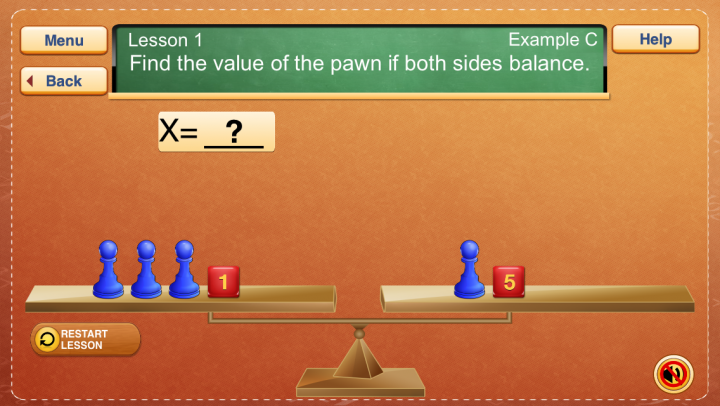 Hands-On Equations 1 app