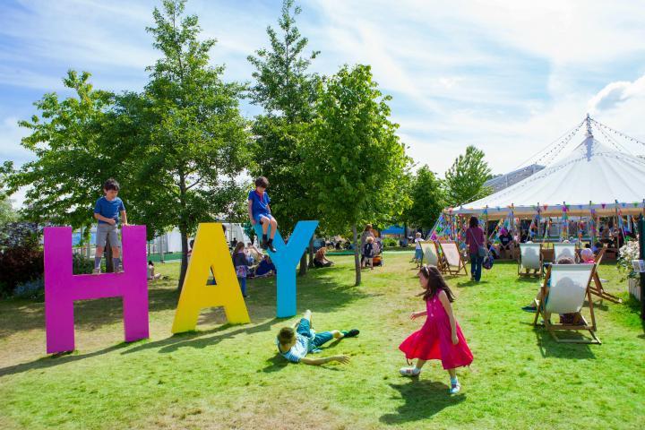 Hay Festival © Elisabeth Broekaert
