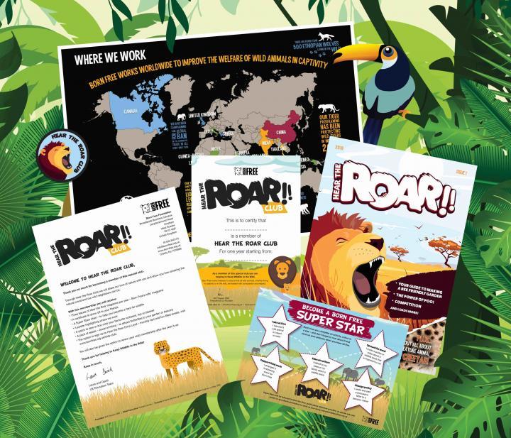 Hear the Roar Club from Born Free
