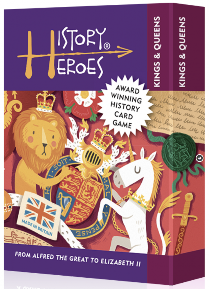 History Heroes Kings and Queens