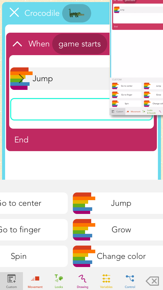 Hopscotch: Coding for Kids app