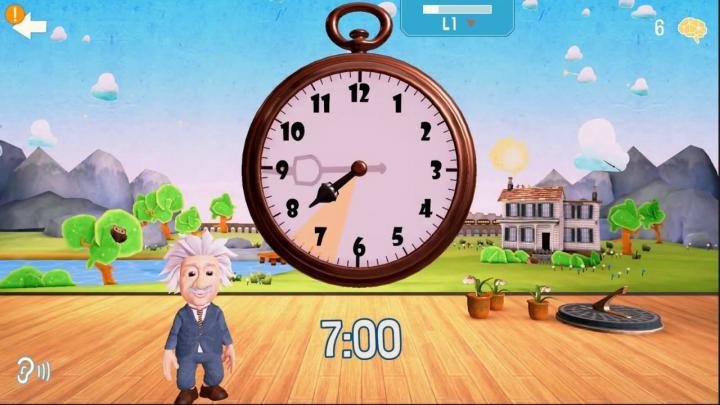 Human Heroes Einstein's Clock app