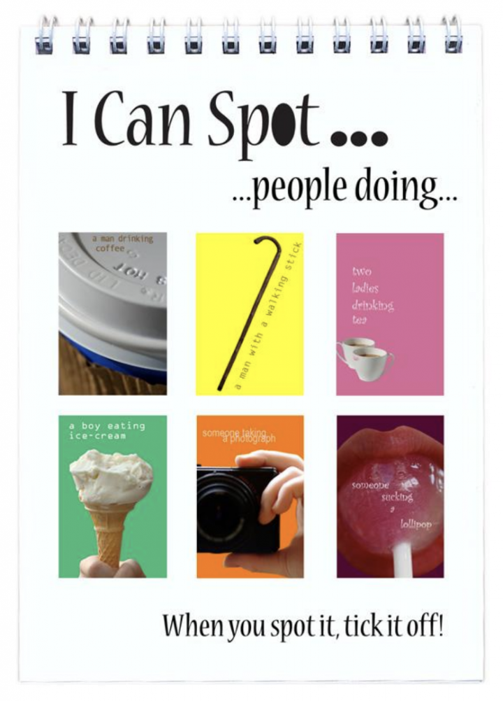 I Can Spot... books