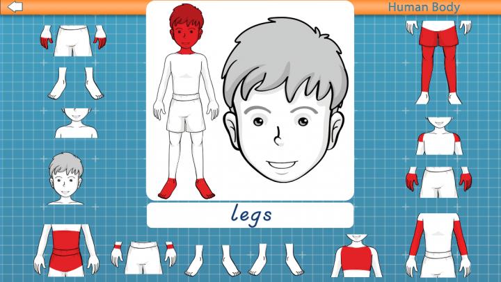 Human Body: Montessori Anatomy app