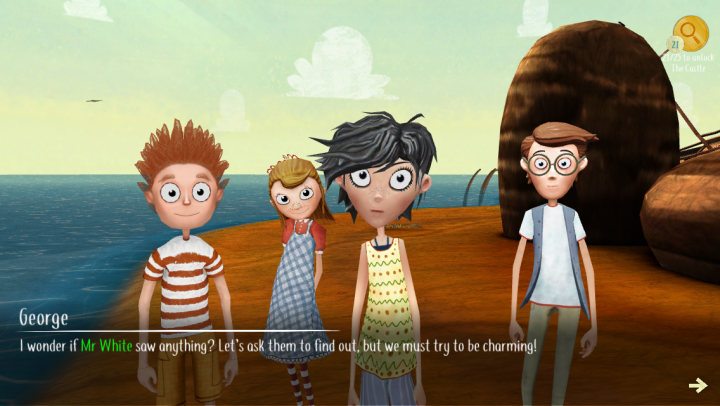 The Famous Five Adventure Game