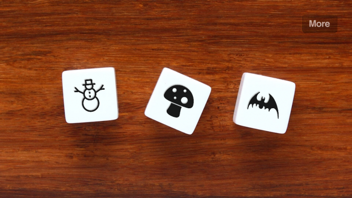 Story Dice – Ideas for Writers app