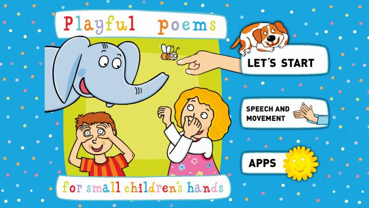 Playful Poems app