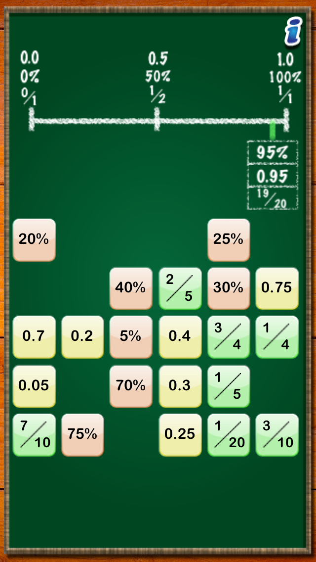 Math Tappers: Equivalents app