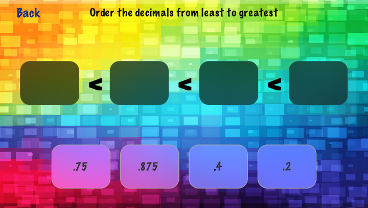 Fractions and Decimals app