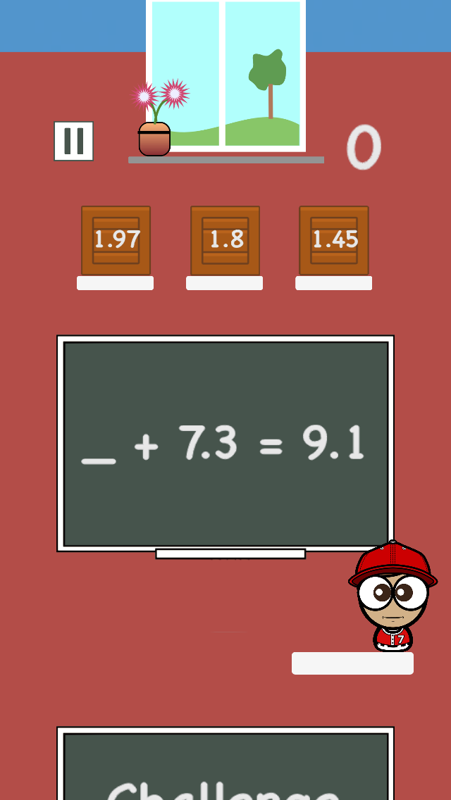 Math Academy – Decimals app