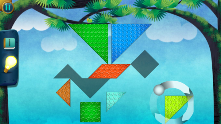 Dragon Shapes – Lumio Geometry Challenge app