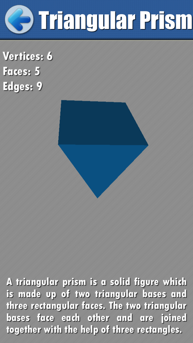 Math Geometry: Learning 2D and 3D Shapes app