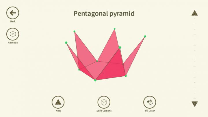 Shapes 3D Geometry Learning app