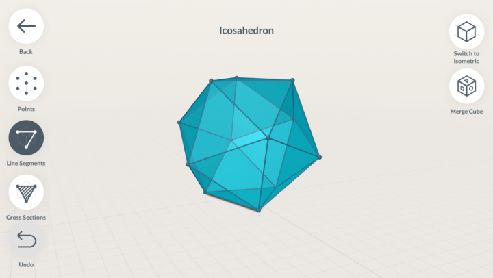 Shapes 3D Geometry Drawing app