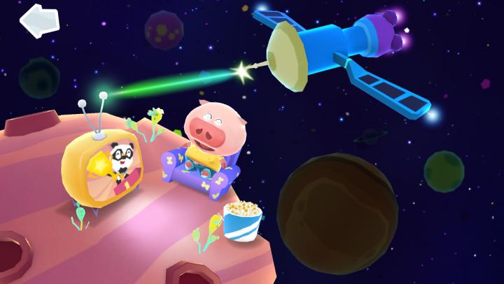 Dr. Panda Space app
