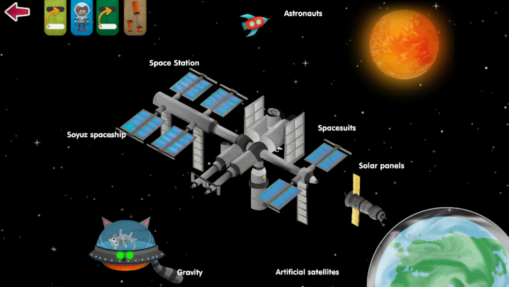 What's In Space? app