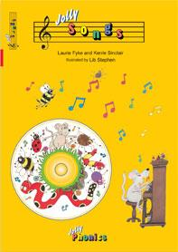 Jolly Songs book and audio CD