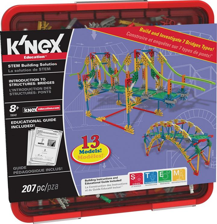 K'Nex Intro to Structures: Bridges Set