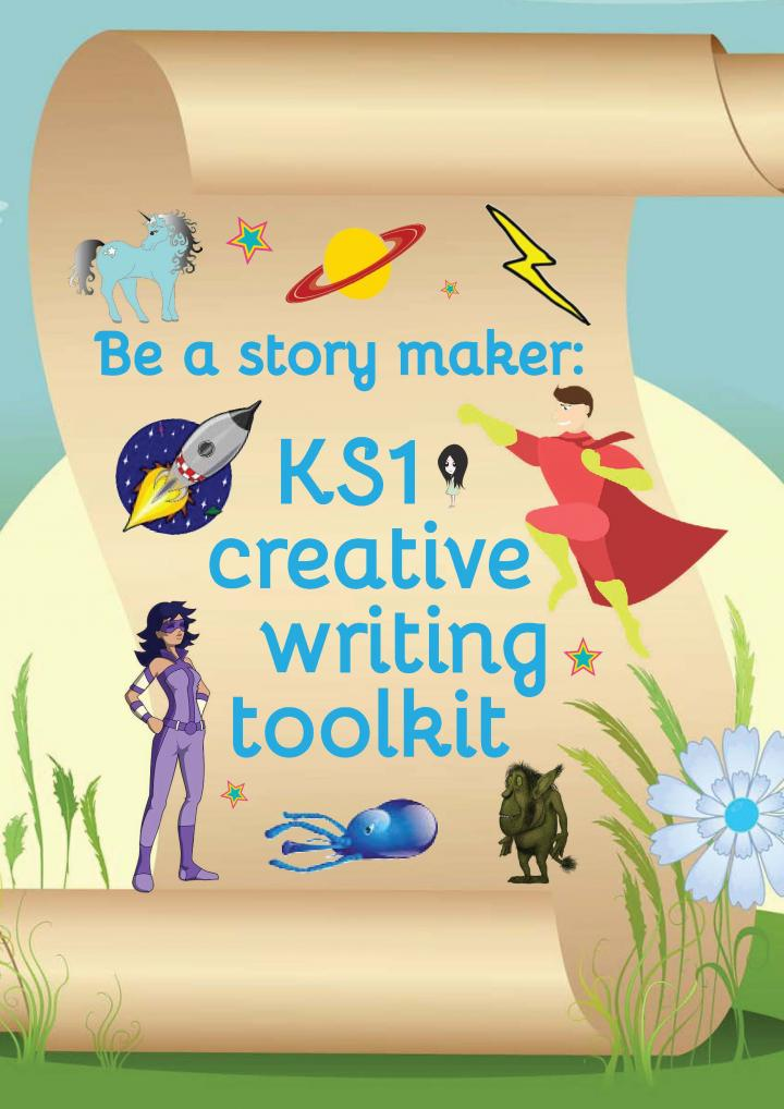 KS1 creative writing toolkit and KS2 creative writing toolkit