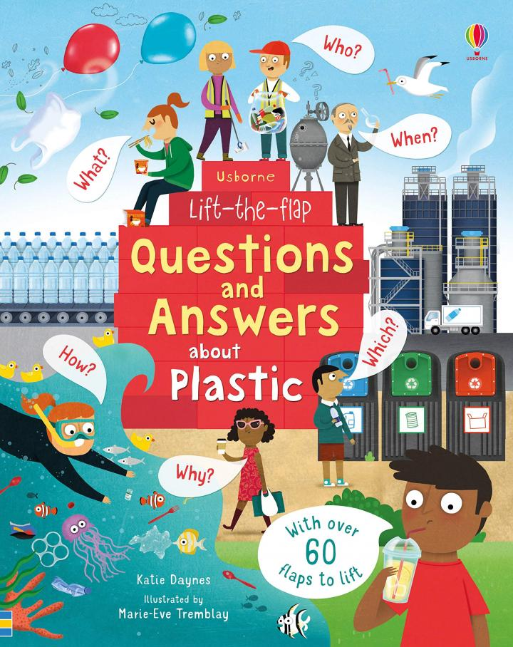 Lift-the-Flap Questions and Answers About Plastic by Katie Daynes