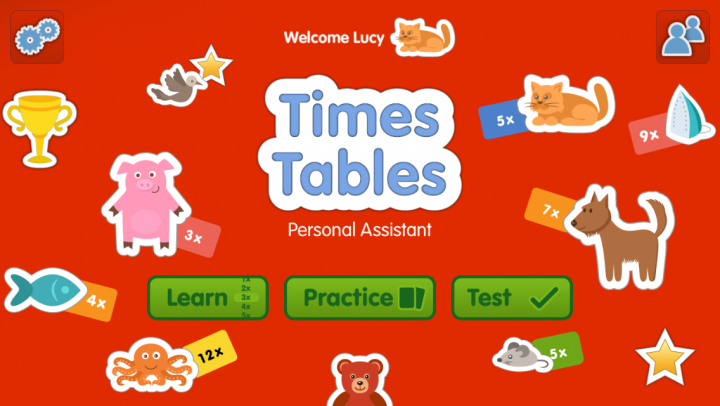 Times Tables Personal Assistant