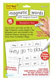 Magnetic Words: Reception Year