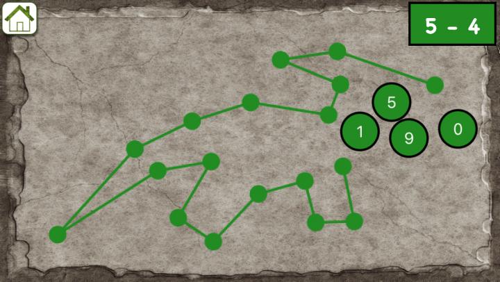 Maths Dots Puzzles